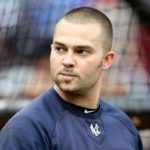 Short Haired Nick Swisher With A Dip In