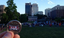 David At Independence Hall For Philly Beer Week