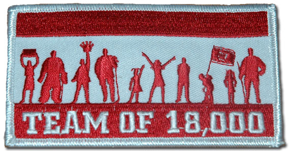 Team of 18000