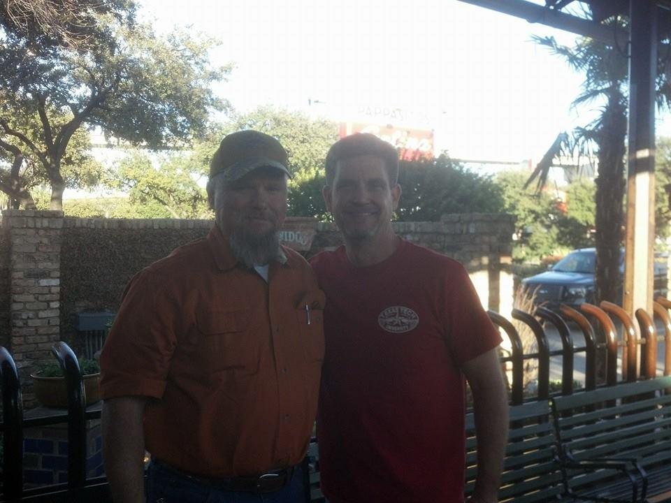 outdoortexan & CBird65 In Dallas, Tx @ Pappasito's Cantina
