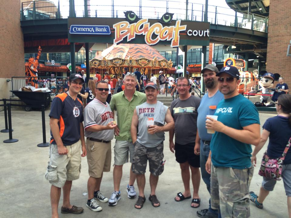 Photo of A Boatload of Quit and a Pink Purse at Comerica Park