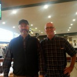Zeno & brettlees At The SeaTac Airport In Seattle