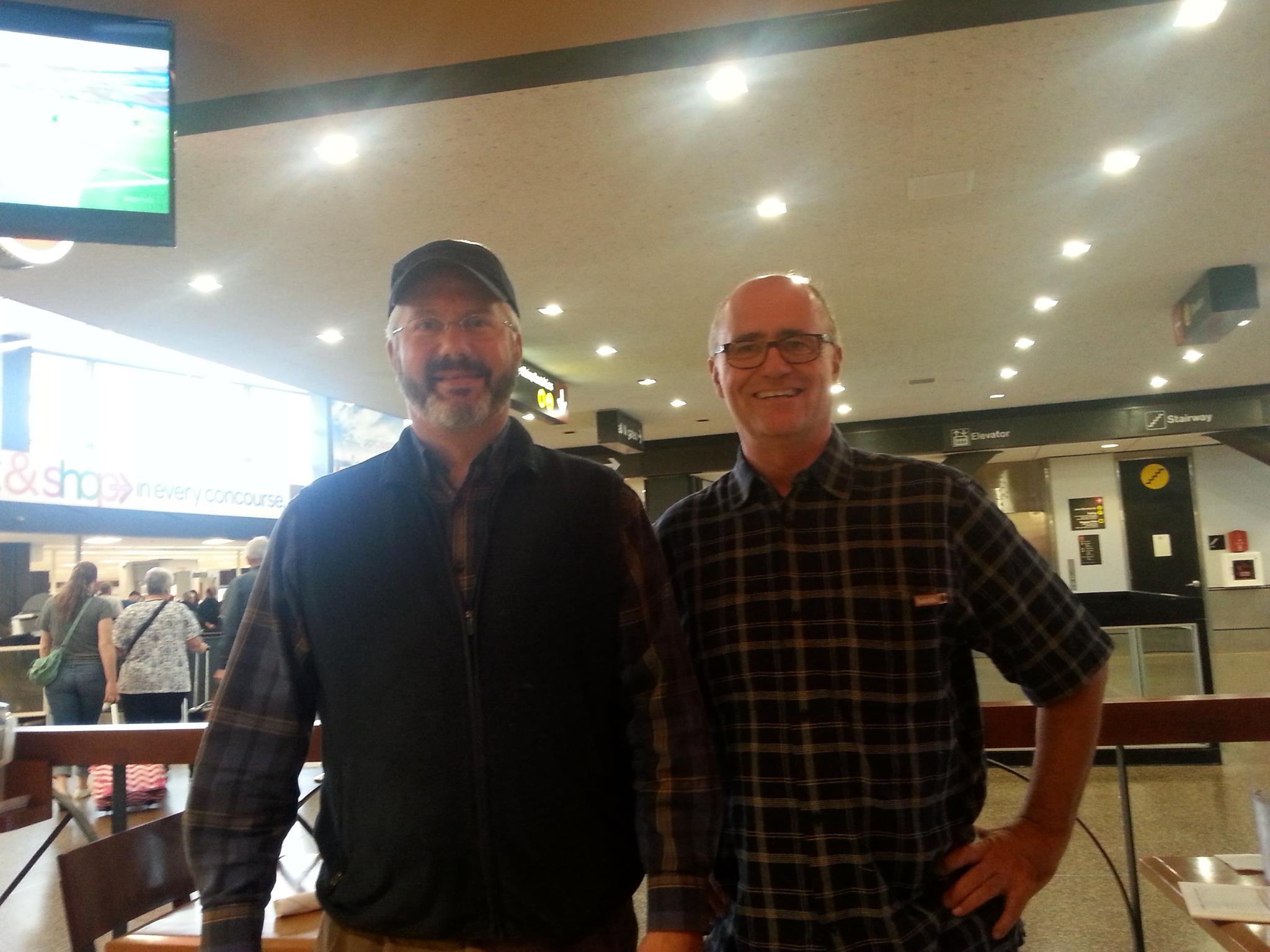 Zeno & brettlees at SeaTac Airport