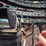 Luby & His HOF Coin Visit Safeco Field