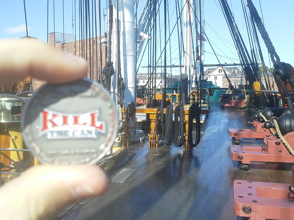 Photo of Quit With Old Ironsides – USS Constitution!