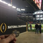 Luby At The National Championship Game