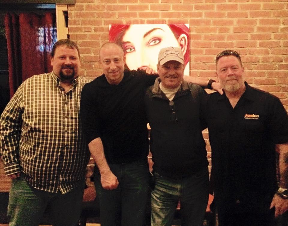 Photo of Bubba, Souli, Fran and BBJ at EJ Cabots