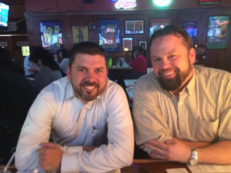 Photo of Mat849 and Chewie – Winking Lizard Tavern