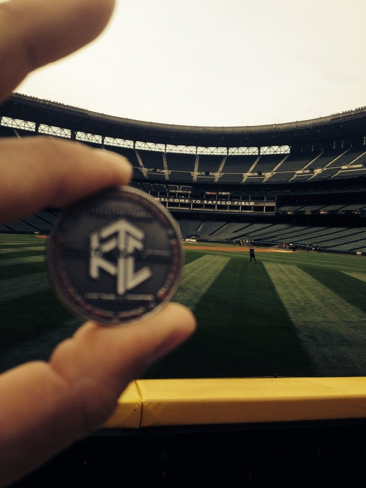Photo of CDub27 Quit In the Outfield at Safeco