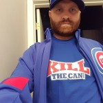 Basshaug Looking Serious Before A Cubs Game