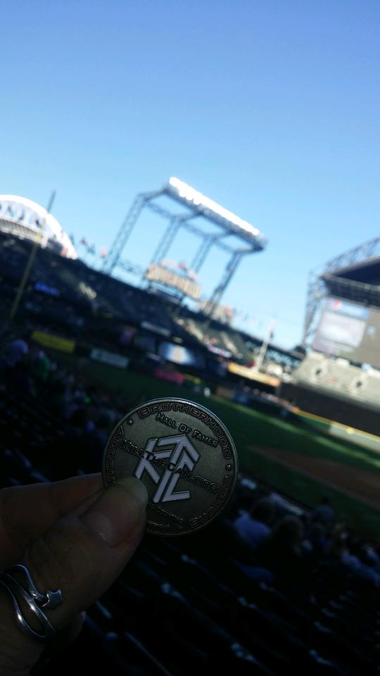 ChickDip - At Safeco Field 9.12.2015