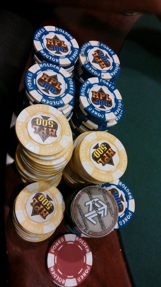 ChickDip At The Poker Table