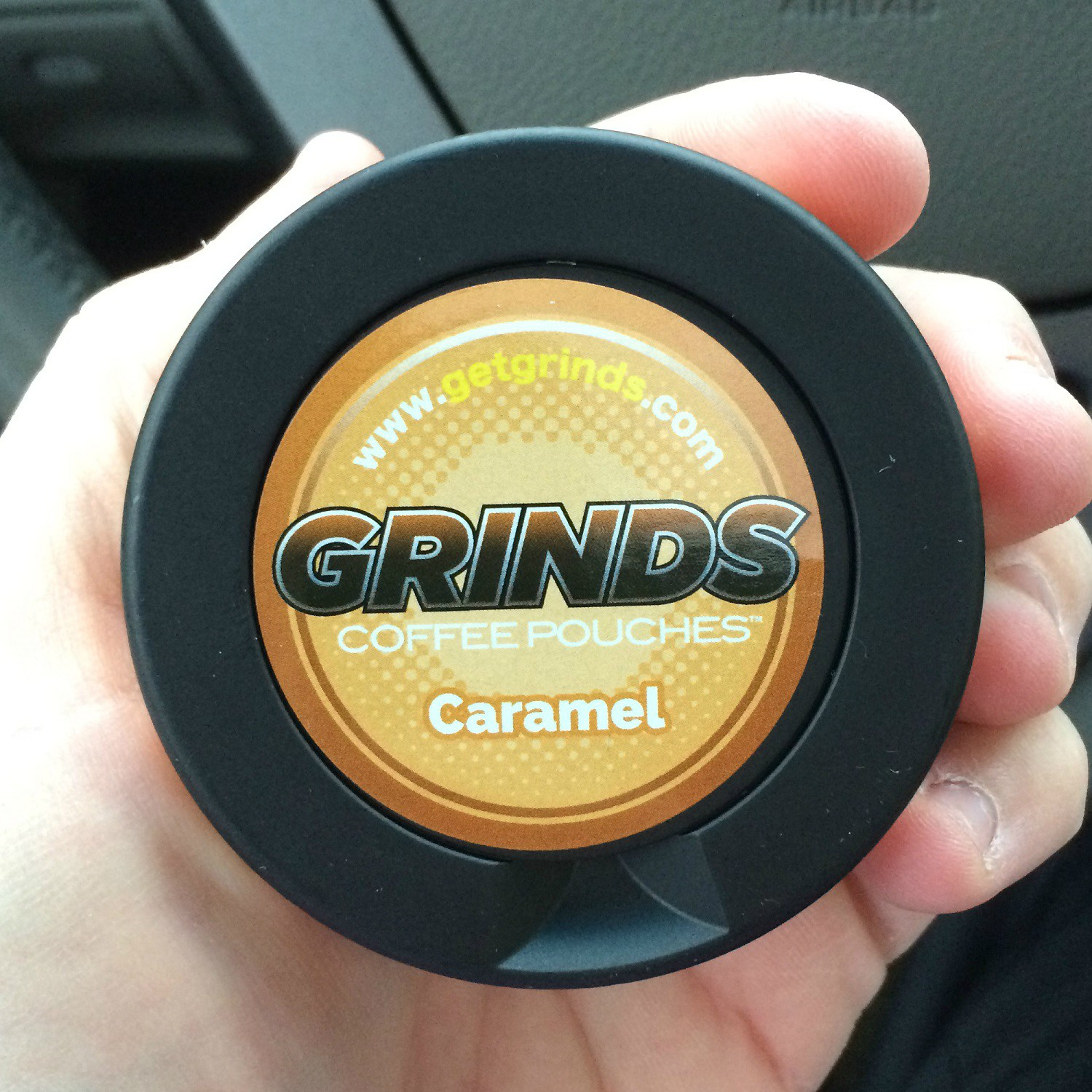 Photo of Grinds Coffee Pouches Caramel Review