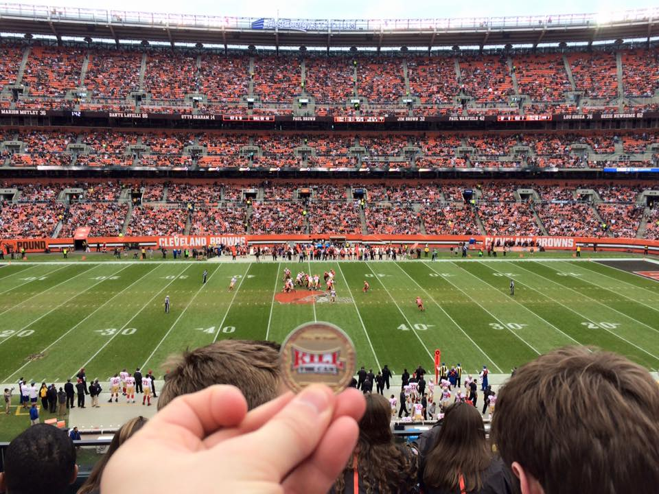 Photo of Quit on the 50 Yard Line