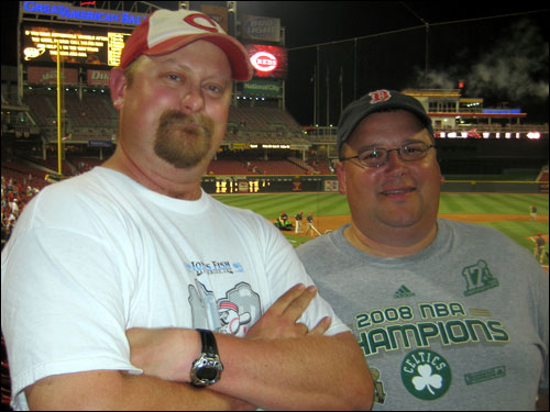 Photo of WhoDey and UncleBubba – Great American Ballpark