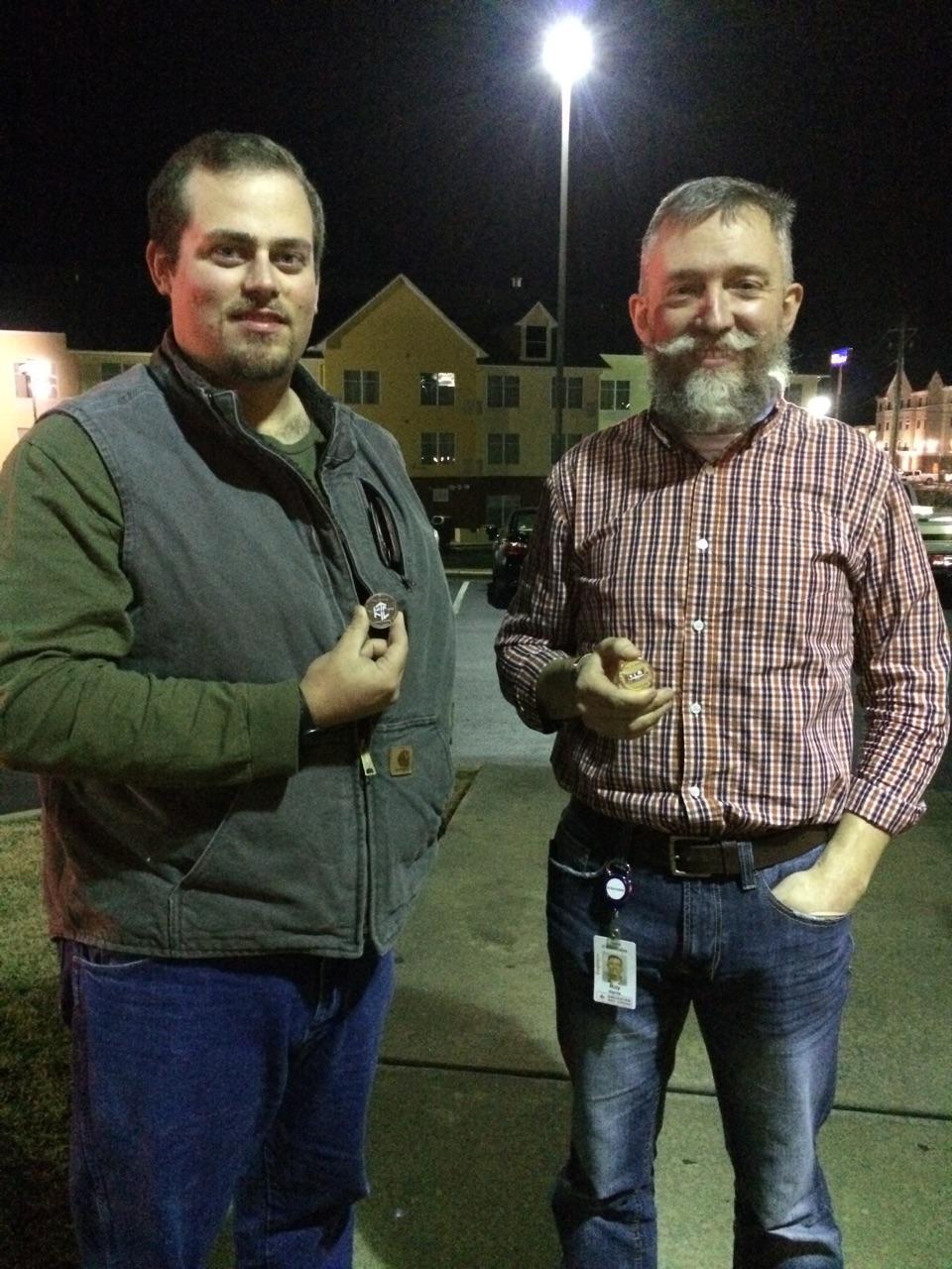 Lumberjack Tim & Roy