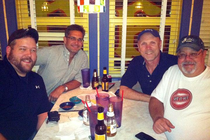 Photo of Bruce317, Cbird65, Rocketman and Kdip In Dallas