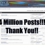 4 Million Forum Posts!
