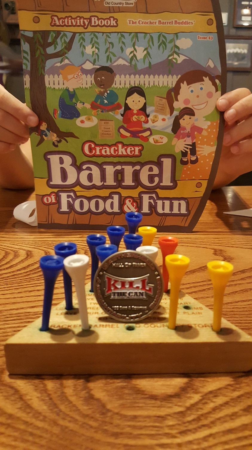 Photo of Quittin at Cracker Barrel
