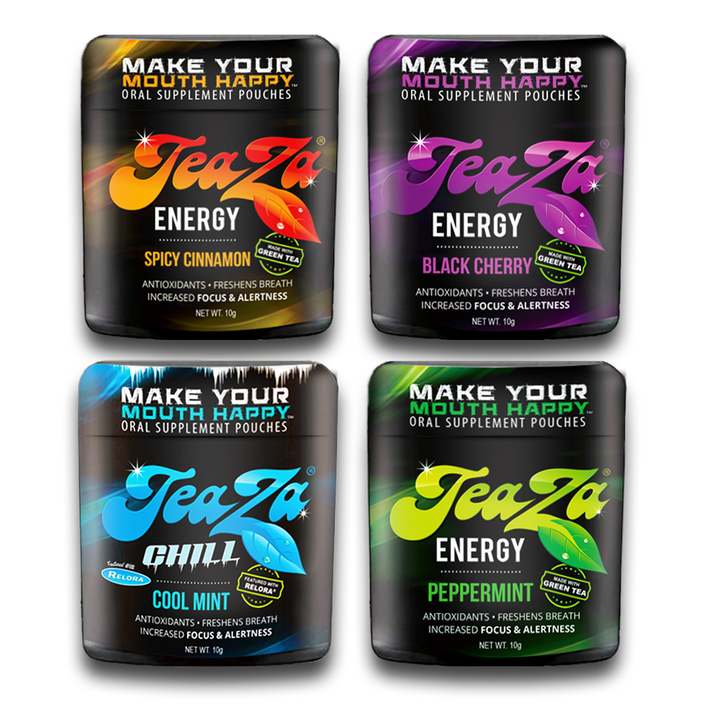 Teaza Energy Pouches