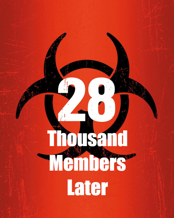 Photo of 28,000 Forum Members!