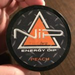 Nip Energy Dip New Flavors – Peach & Vanilla