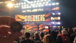 Chewie - WWE RAW in Cleveland