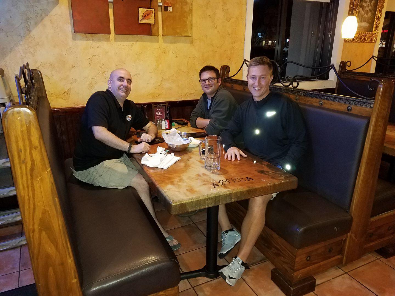 Photo of Richard K, Backwoods901 and AJF at Plaza Azteca