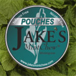 Jake's Wintergreen Pouch Label