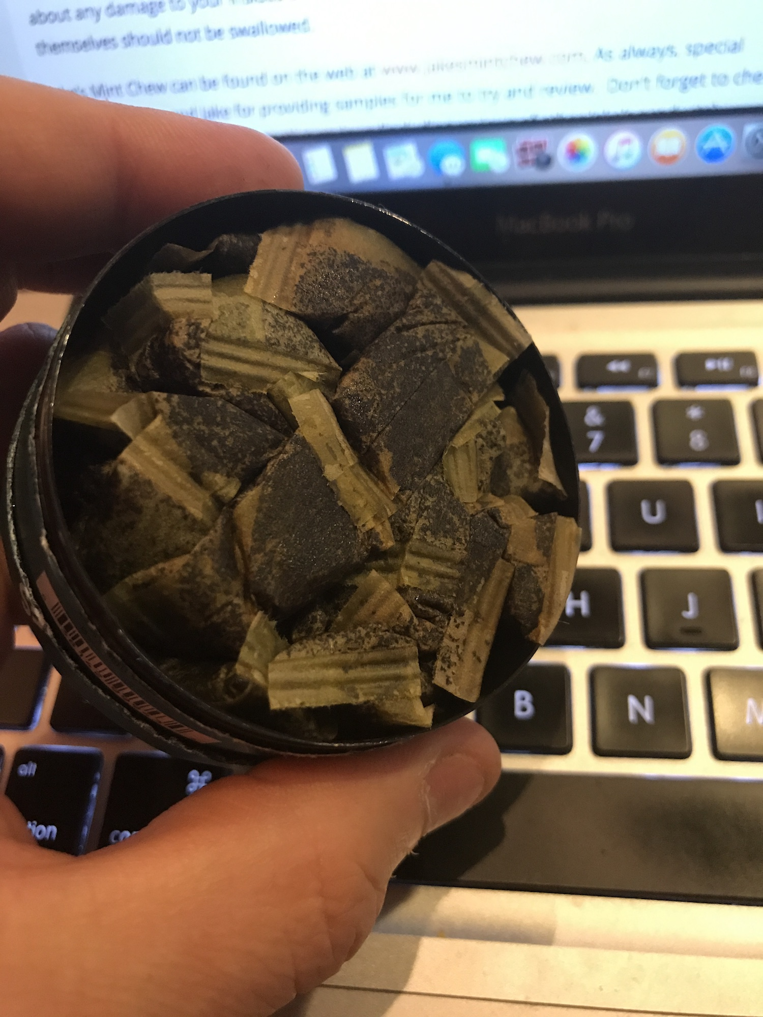 Jake's Mint Chew Pouches Re-Review In Can