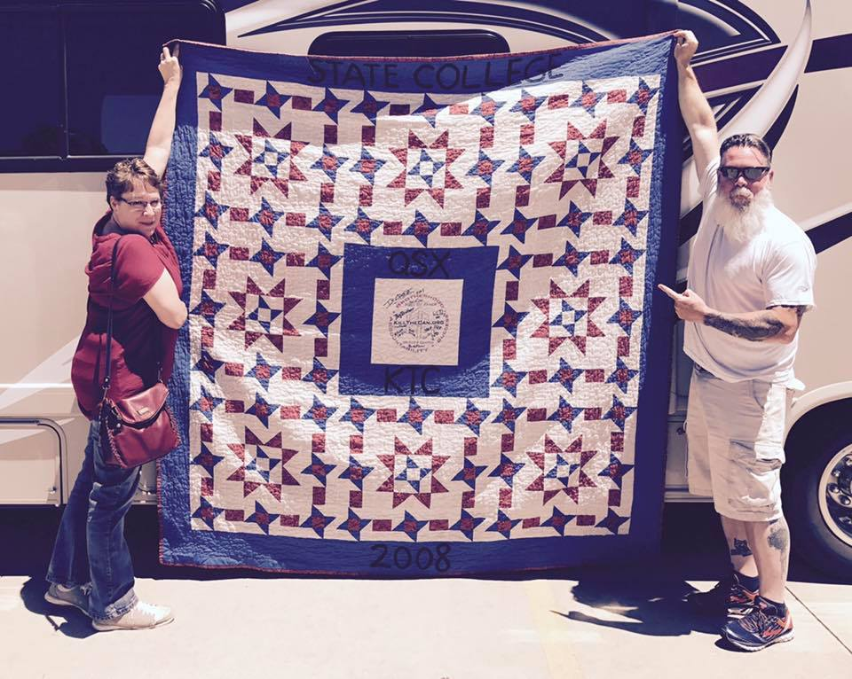 Photo of Juliejan, Big Brother Jack and the Quitter Quilt