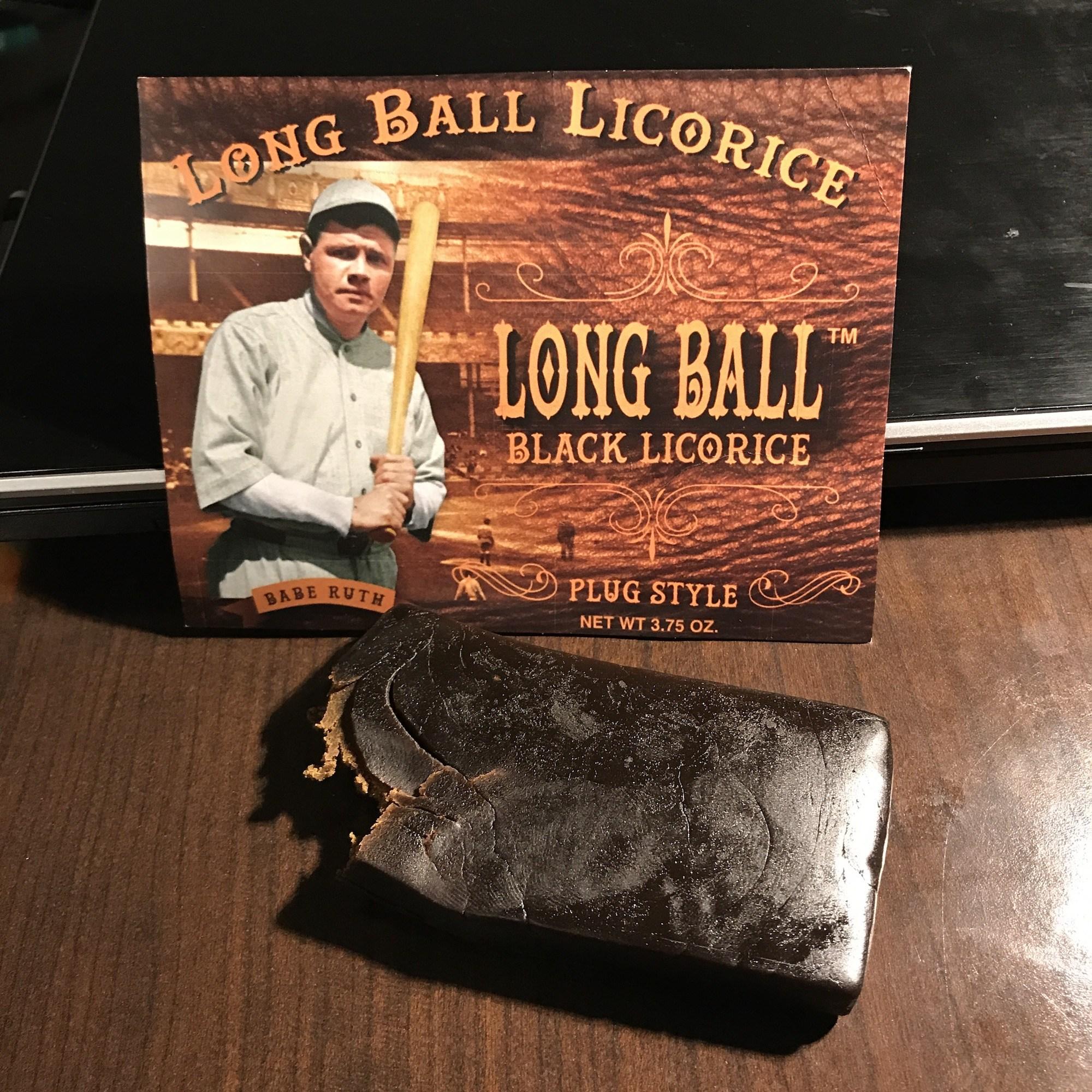 Photo of Long Ball Black Licorice – Plug Style Alternative