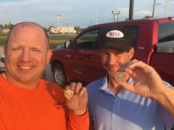 Photo of Weedsta and ReWire Rocking Their HOF Coins