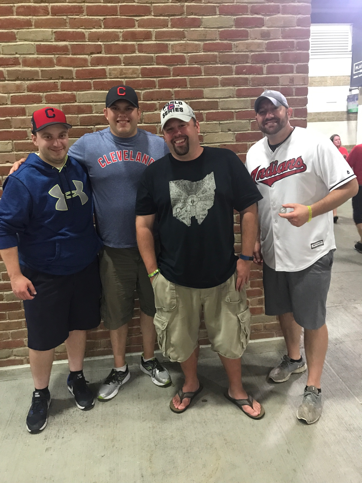 Photo of Ralphie51, Steve1357, Chewie and BillW21 in Cleveland