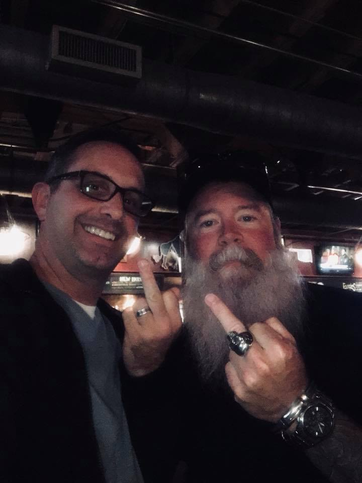 Photo of ERDVM and Big Brother Jack at TapWerks Ale House