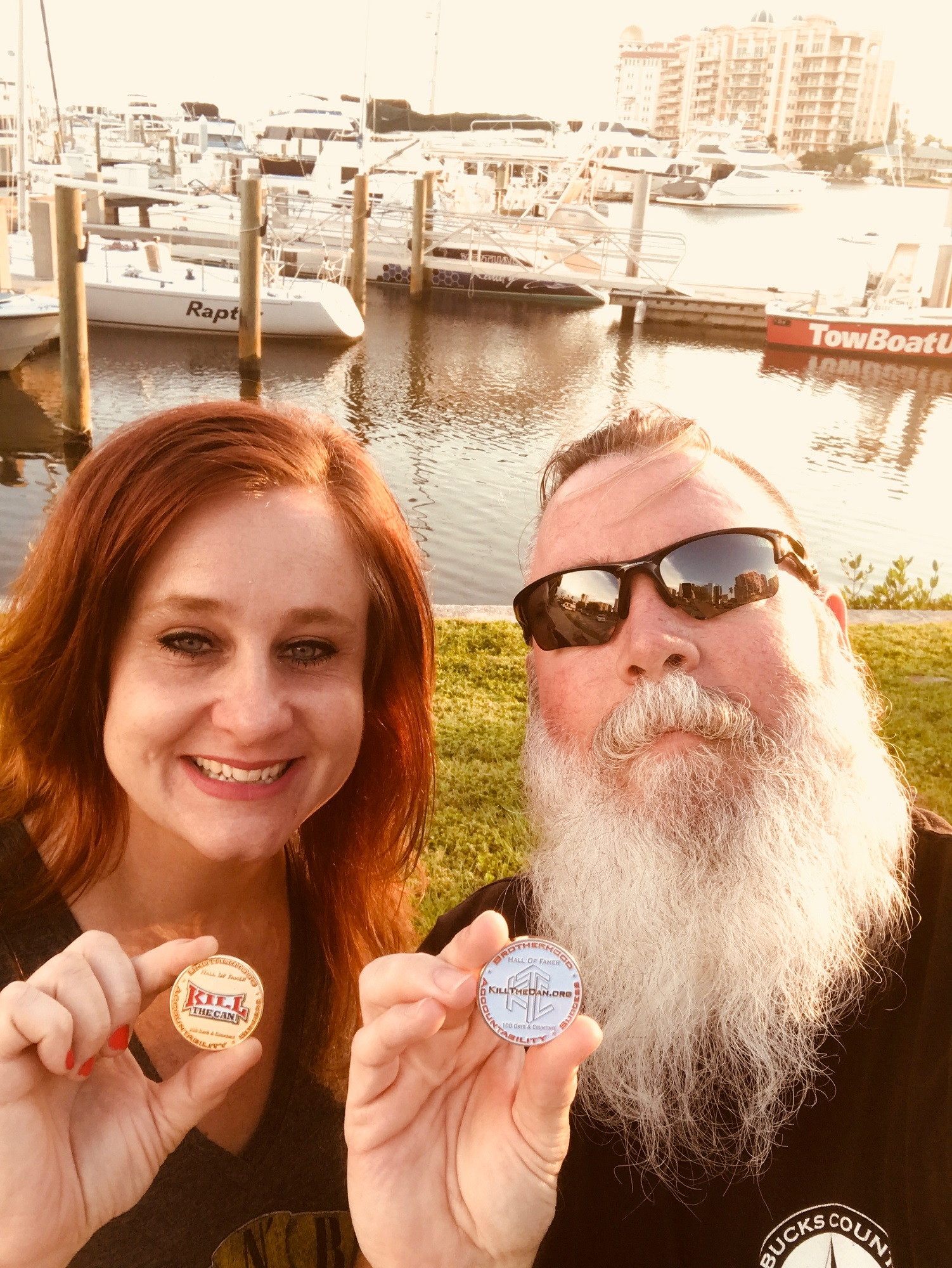 Photo of Elizabeth529 and Big Brother Jack in FLA