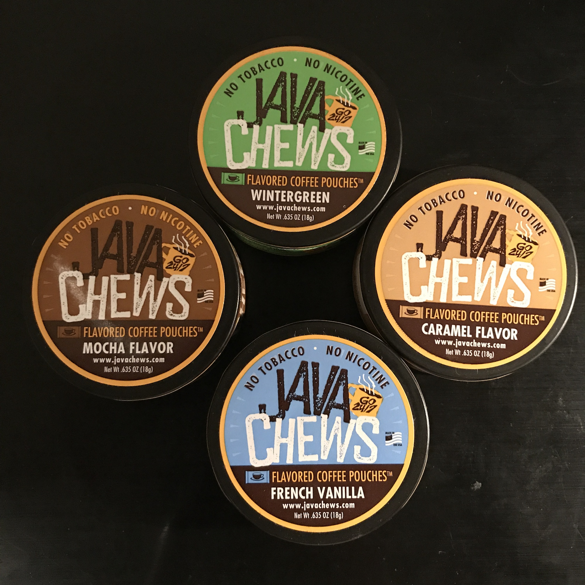 Photo of Java Chews Flavored Coffee Pouches Review