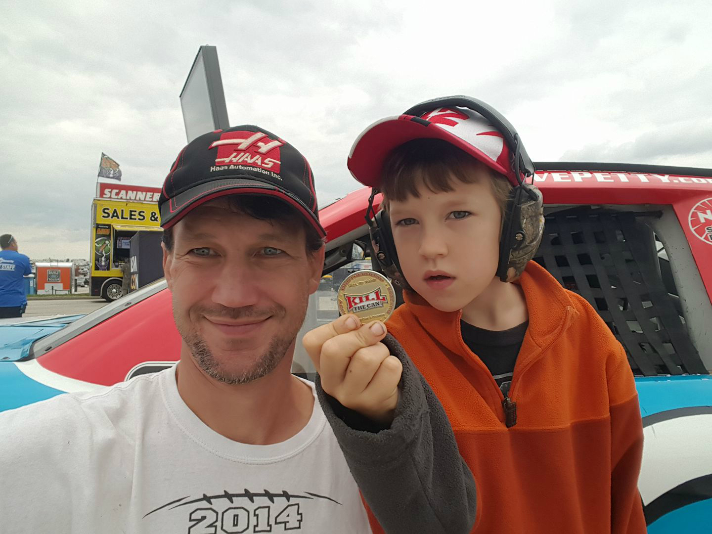 Photo of ReWire and ReWire Jr. at the Kansas Speedway