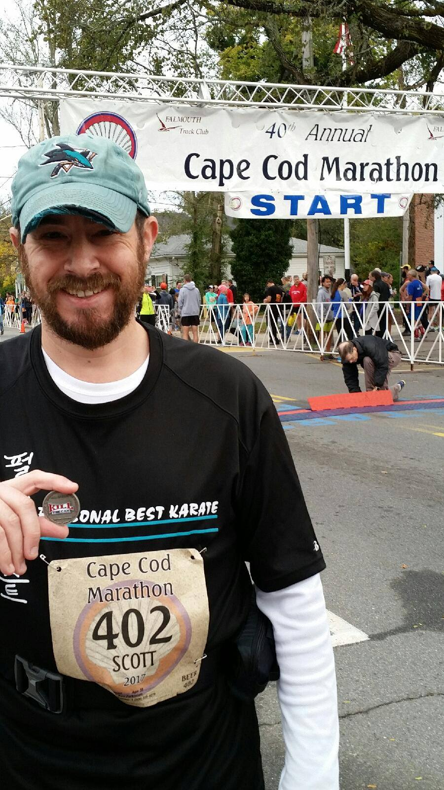 Photo of Sporticus at the Cape Cod Marathon
