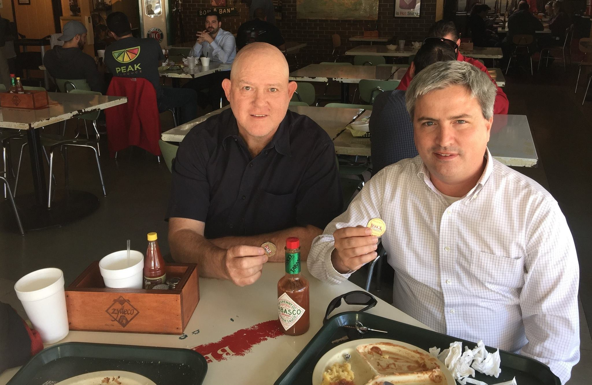 UncleRico and Gregor - Zydecos Cajun Restaurant