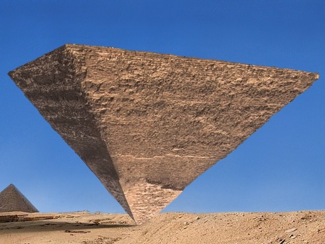 Photo of The Upside Down Pyramid