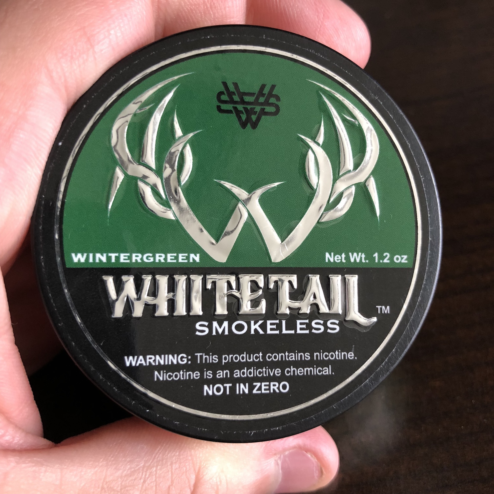 Whitetail Smokeless Wintergreen