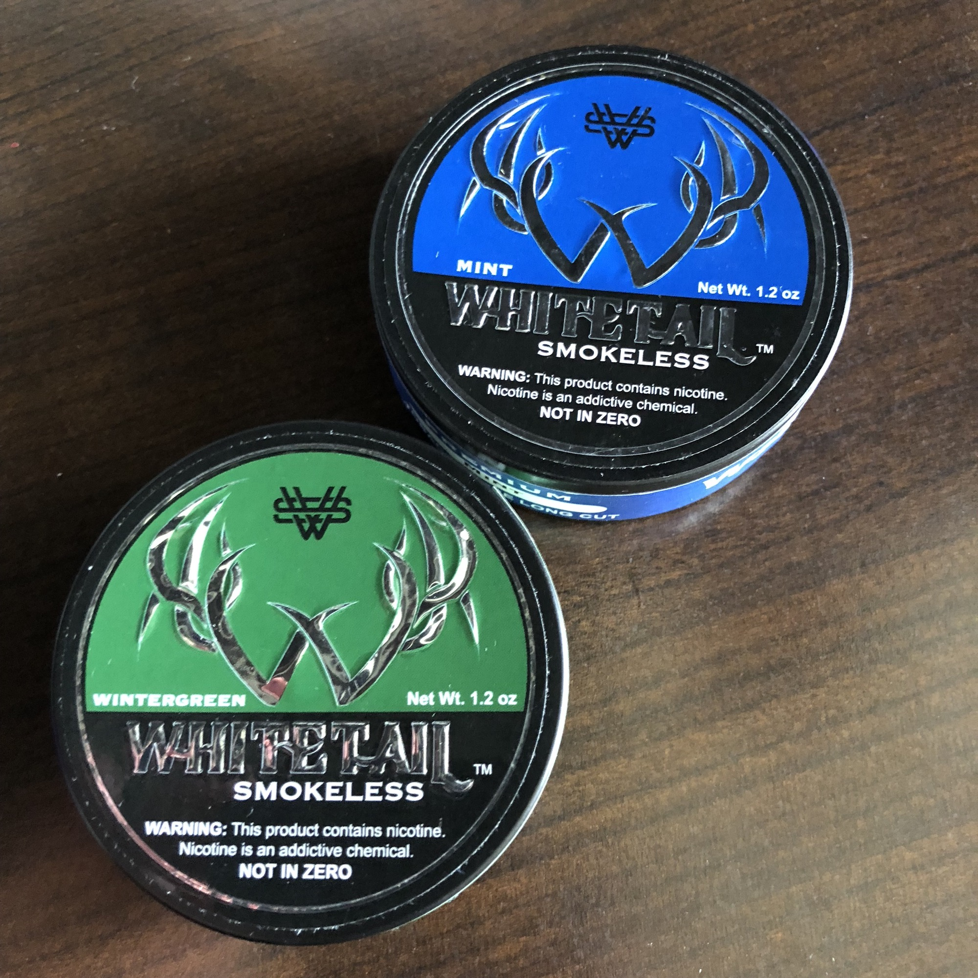 Whitetail Smokeless ZERO Nicotine Review - KillTheCan org