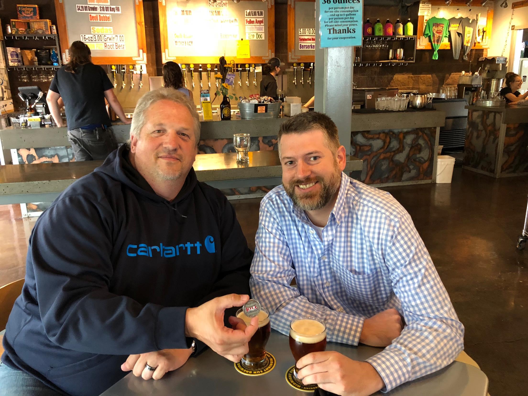 Photo of chris2alaska and Peter Gibbons Quitting in Alaska