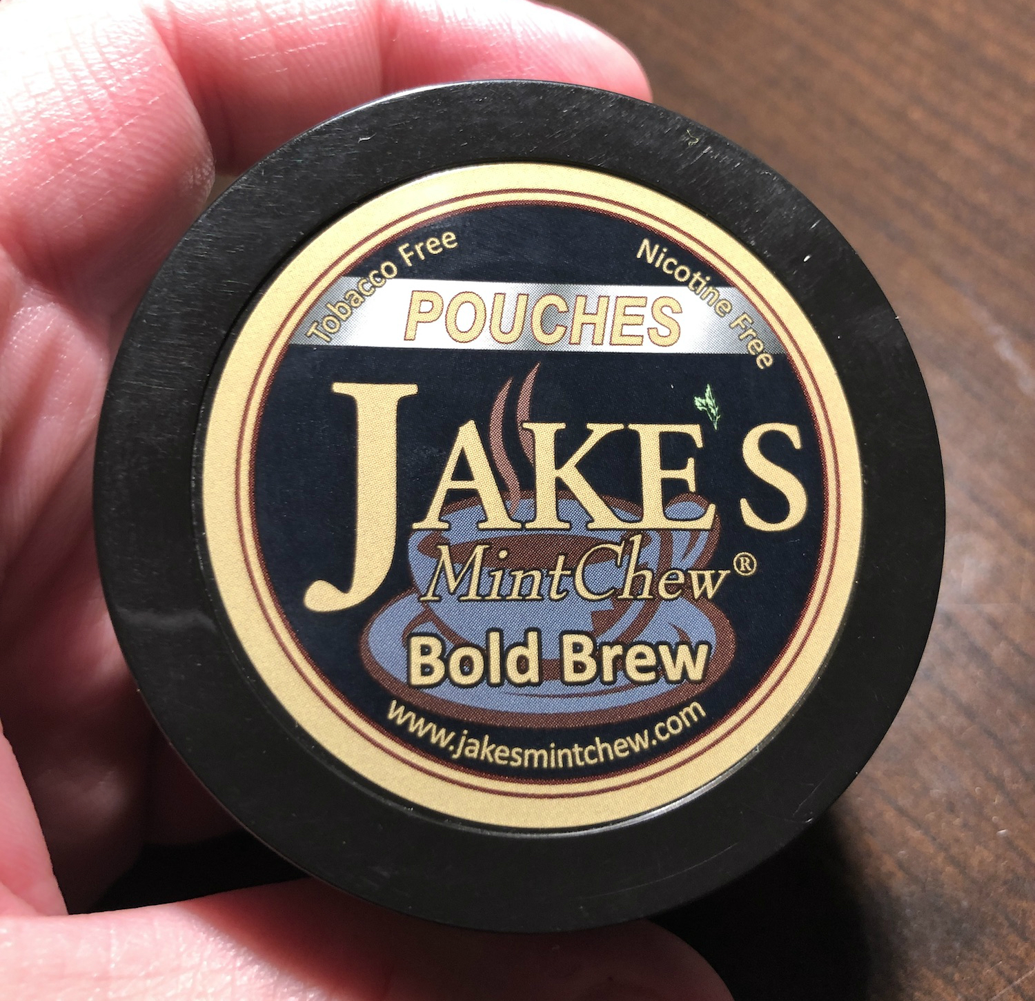 Photo of Jake's Mint Chew Bold Brew Pouches Review