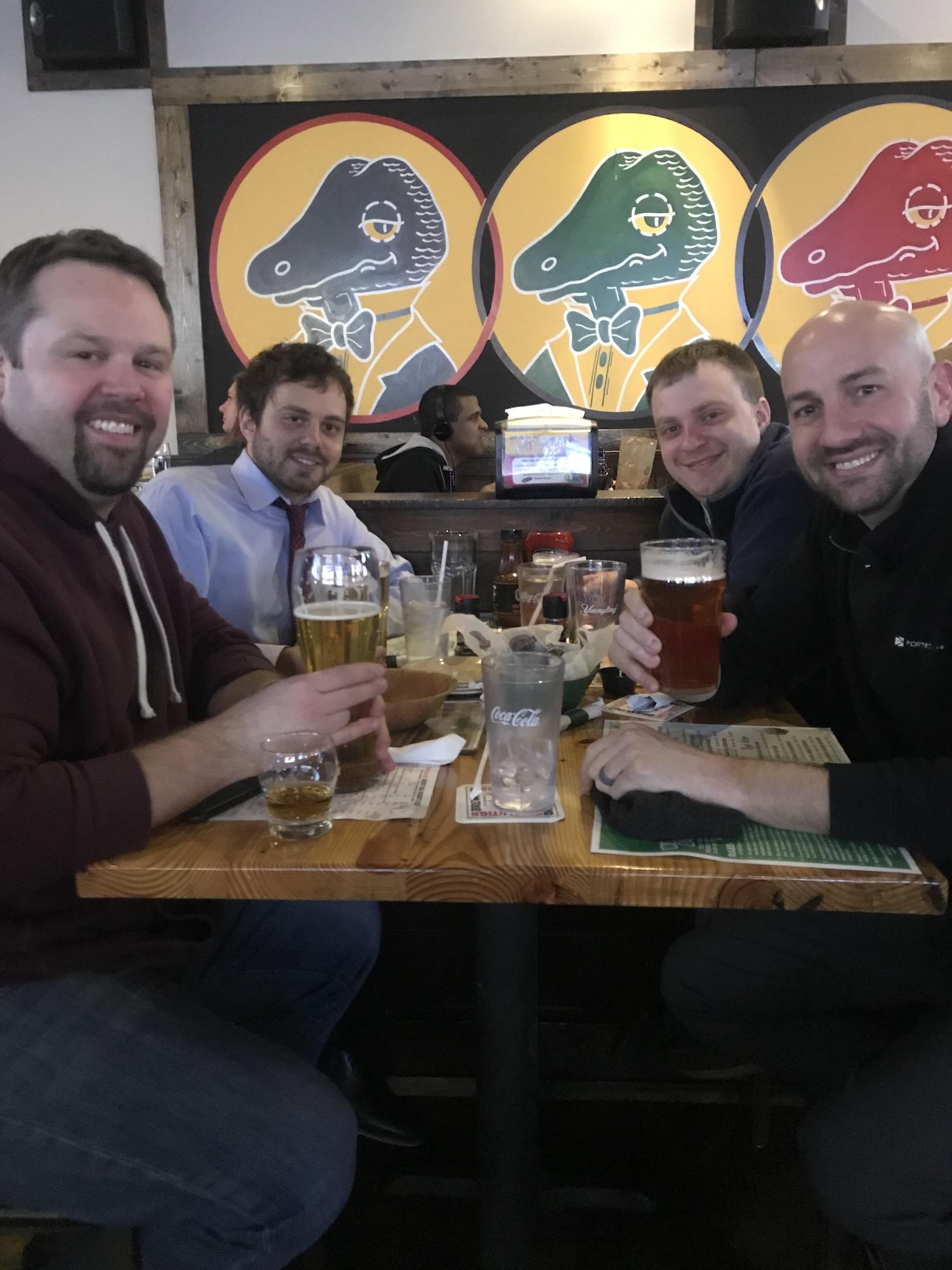 Photo of Chewie, CLEalt, Ralphie and BillW in Cleveland