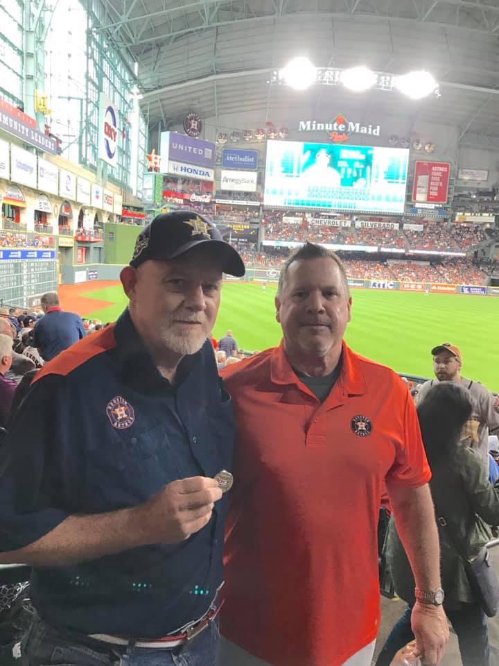 Photo of UncleRico and Stros17 at Minute Maid Park