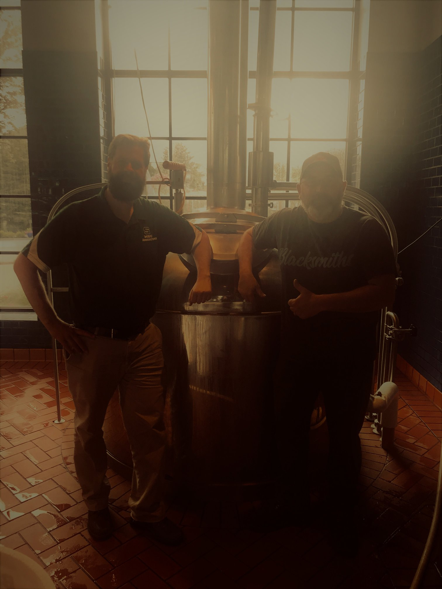Photo of RDB and MikeW2018 – Frankenmuth Brewery