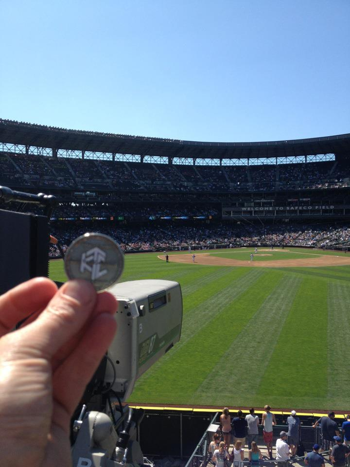 Photo of Luby's Perfect Game Quit at Safeco Field