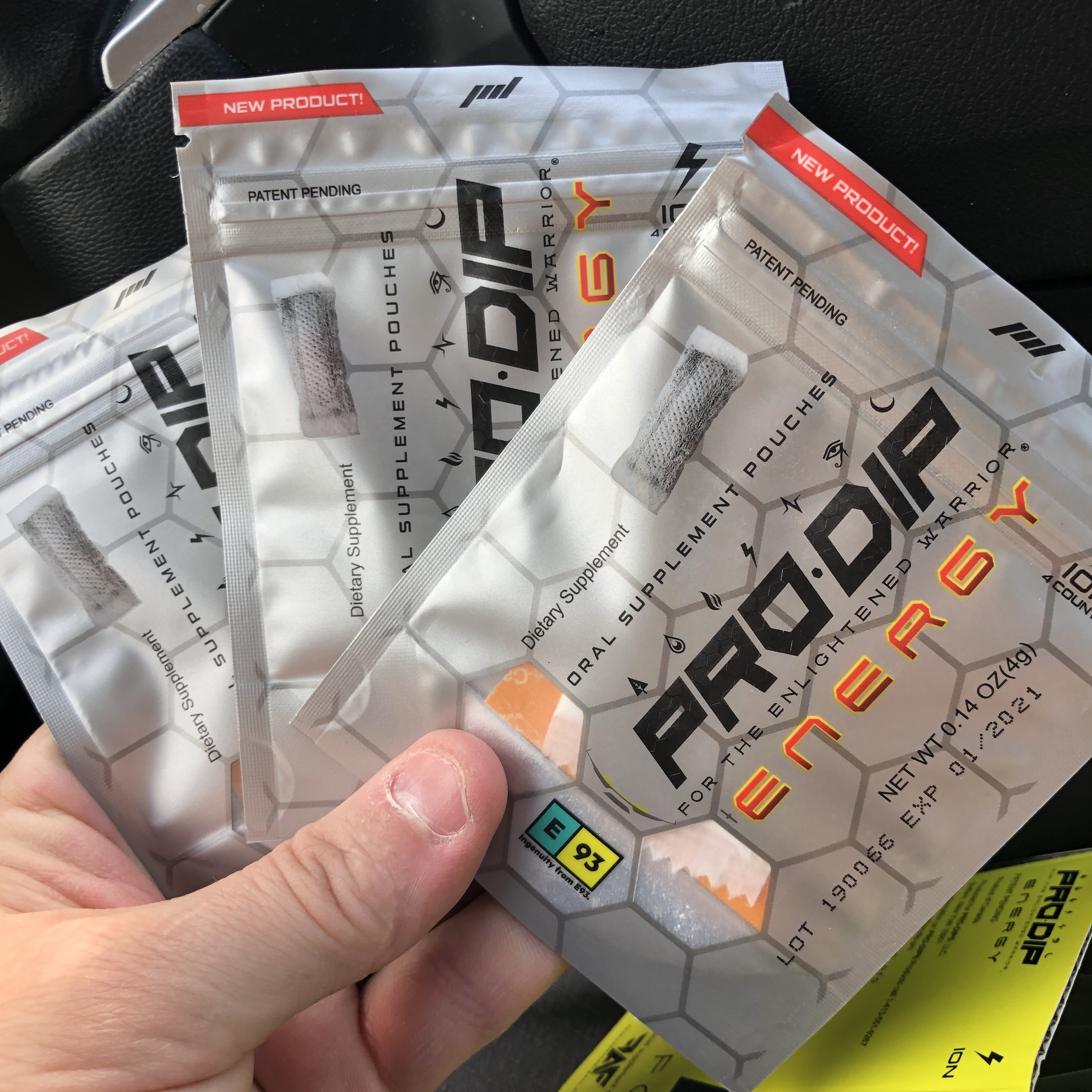 Photo of PRO-DIP Energy Pouch Review